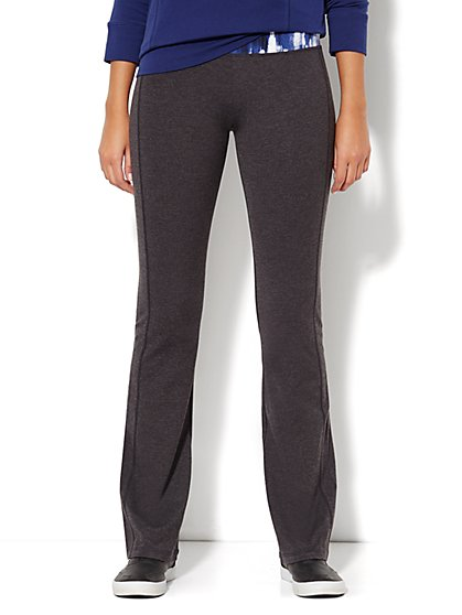 Love, NY&C Collection - Yoga Pant - Heather Grey  - New York & Company