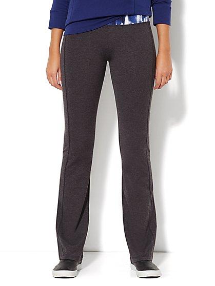 Love, NY&C Collection - Yoga Pant - Heather Grey  - New York & Company