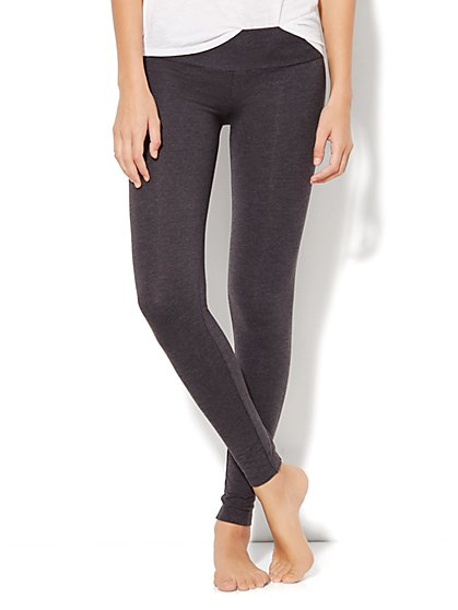 Love, NY&C Collection - Yoga Zip Legging - New York & Company