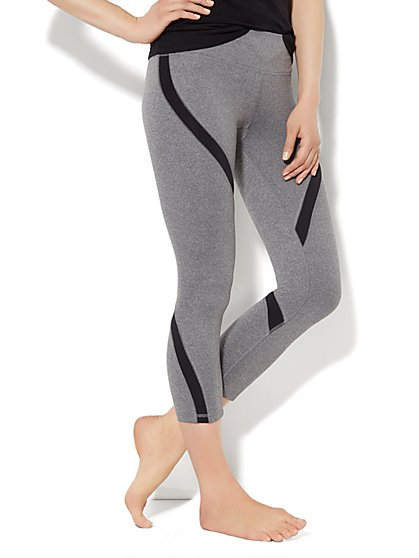 Love, NY&C Envy Collection - Colorblock Legging   - New York & Company