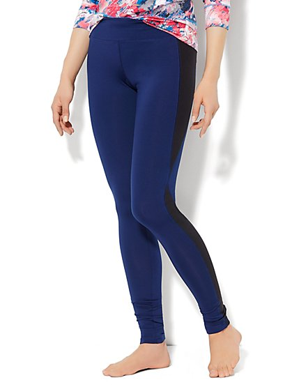 Love, NY&C Envy Collection - Contrast Panel Legging   - New York & Company