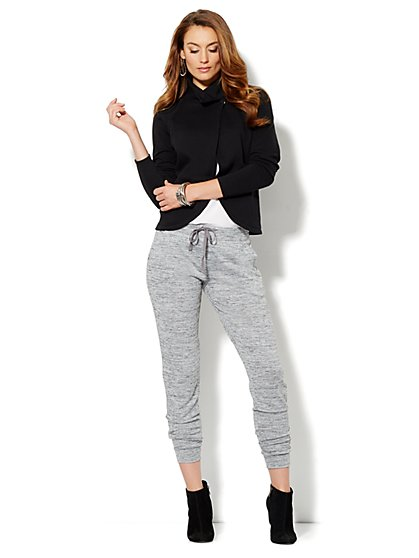 Love, NYC Collection - Heathered Sweatpant  - New York & Company