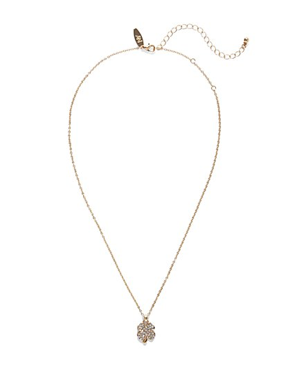 Lucky Clover Pendant Necklace  - New York & Company