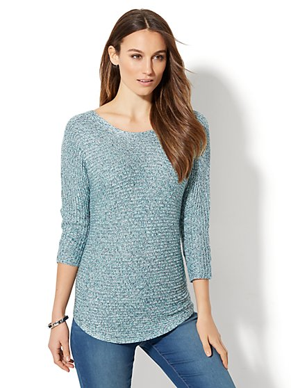 Lurex Dolman Sweater - New York & Company