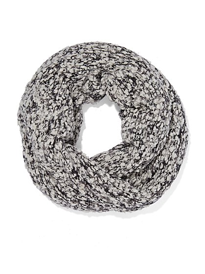 Lurex Mixed-Stitch Snood  - New York & Company