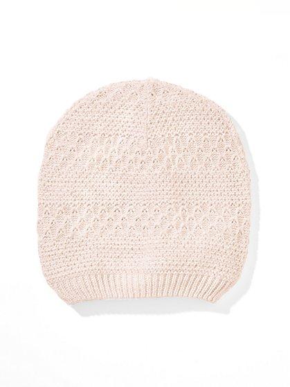 Lurex Textured Hat  - New York & Company