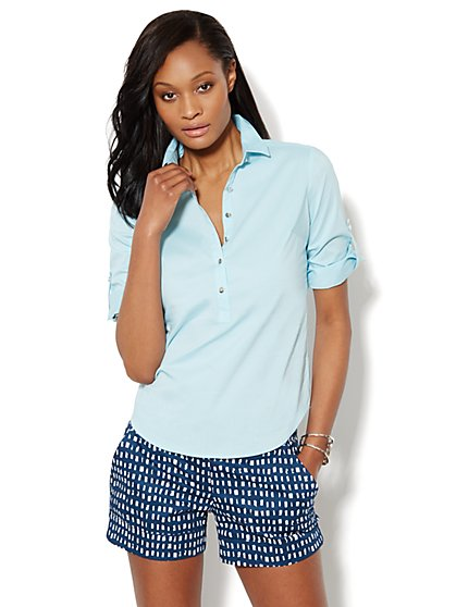 Madison Popover Shirt - New York & Company