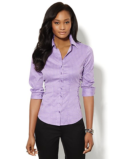 Madison Shirt - Polka-Dot Print