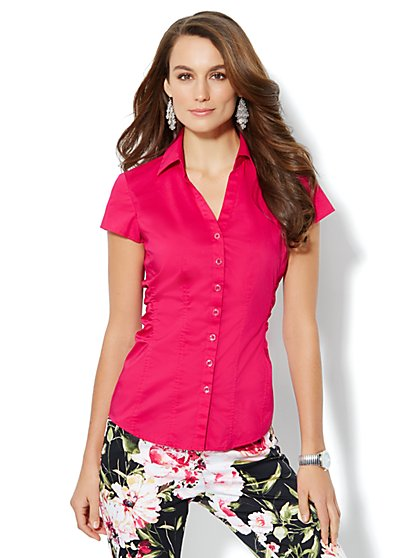 Madison Shirt - Side-Ruched