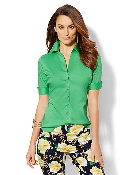 Madison Stretch Shirt  - New York & Company