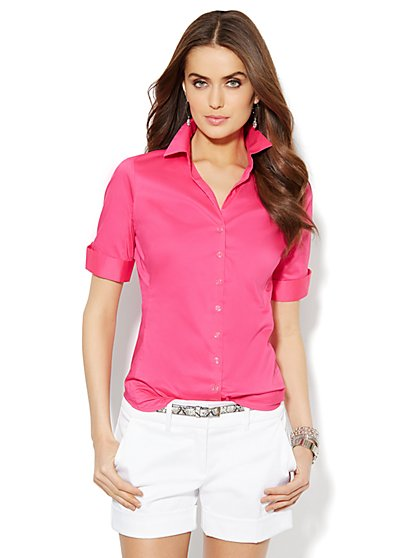 Madison Stretch Shirt  - New York & Company