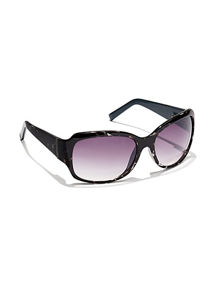 Marble Gradient-Lens Sunglasses - New York & Company