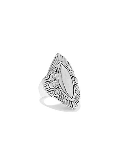 Marquise Shield Ring  - New York & Company
