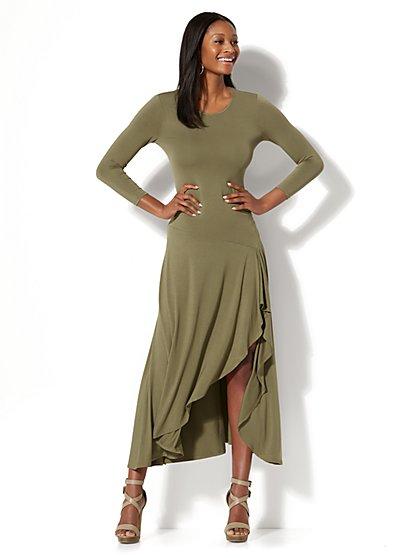 Maxi Hi-Lo Dress - New York & Company