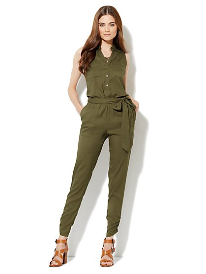 Mercer Soft Jumpsuit - New York & Company