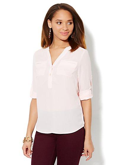 Mercer Soft Popover Shirt