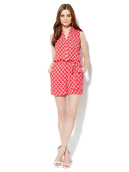Mercer Soft Romper -  Printed