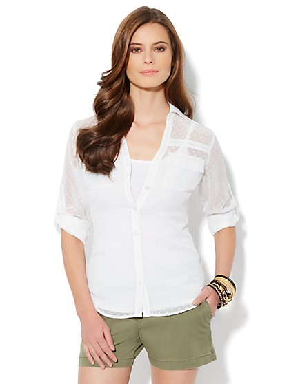 Mercer Soft Shirt - Clip Dot