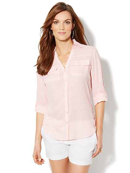 Mercer Soft Shirt - Polka-Dot