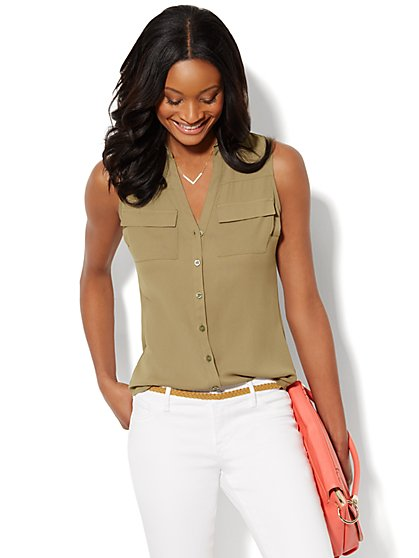 Mercer Soft Shirt - Sleeveless