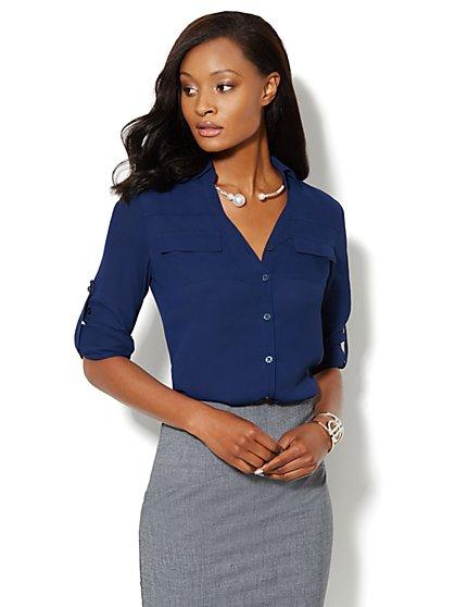 Mercer Soft Shirt - New York & Company