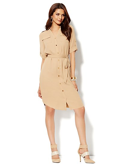 Mercer Soft Shirtdress