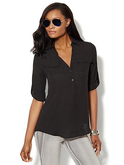 Mercer Soft Tunic - Solid