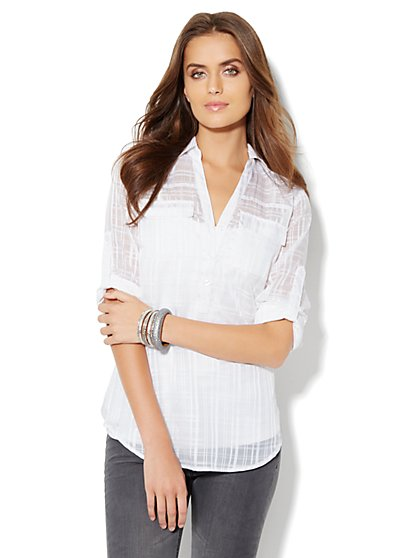 Mercer Soft Tunic - New York & Company
