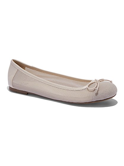 Mesh Ballet Flat  - New York & Company