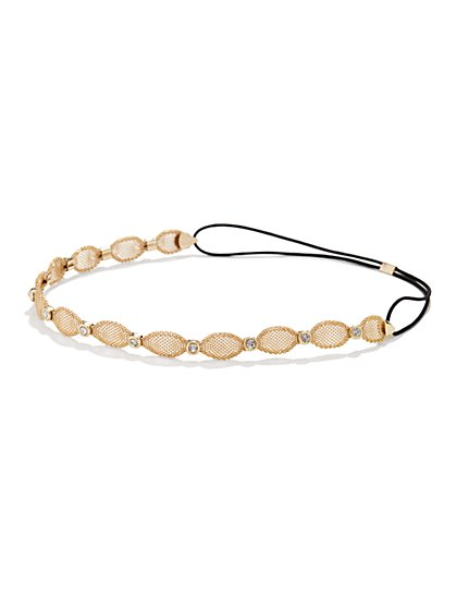 Mesh Chain Headband  - New York & Company
