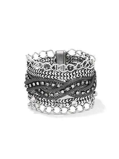 Mesh Chain-Link Bracelet - New York & Company