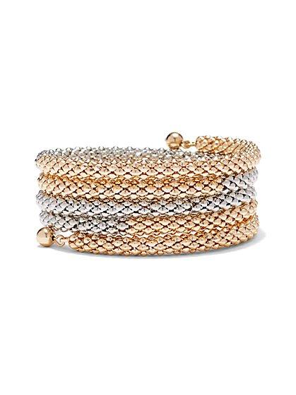 Mesh Coil Bracelet  - New York & Company