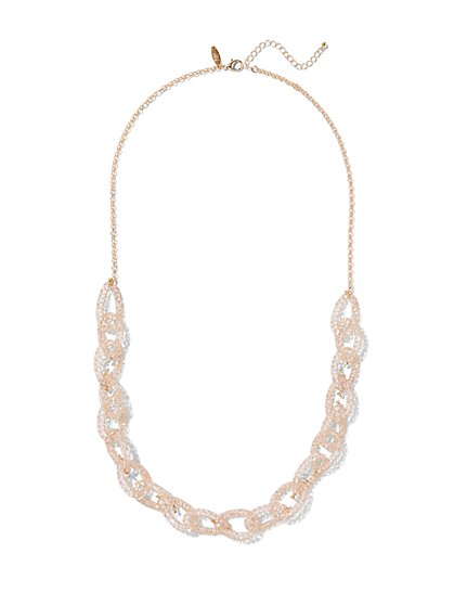 Mesh Link Necklace  - New York & Company