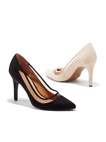 Mesh-Trim Pumps - New York & Company