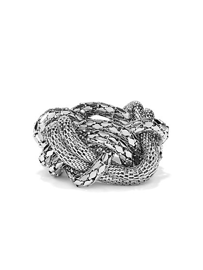 Mesh Twist Stretch Bracelet  - New York & Company
