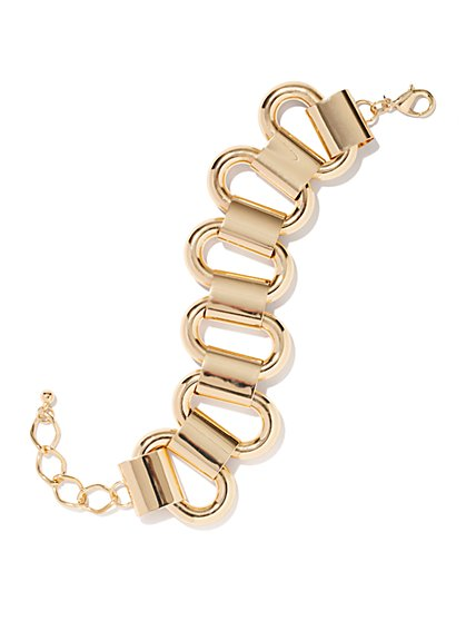 Metallic Links Bracelet - New York & Company