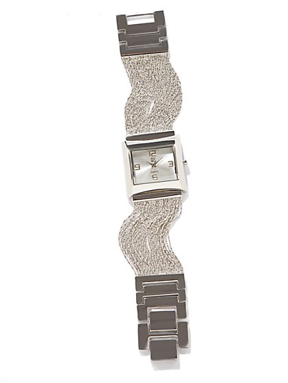 Metallic Multi-Strand Watch