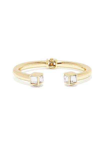 Metallic Open Hinge Bracelet