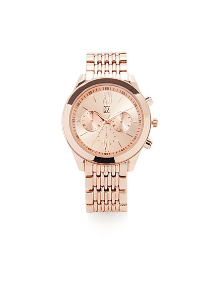 Metallic Oversized Watch