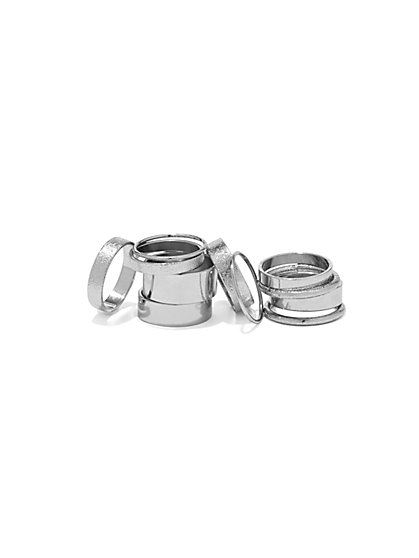 Metallic Ring Set  - New York & Company