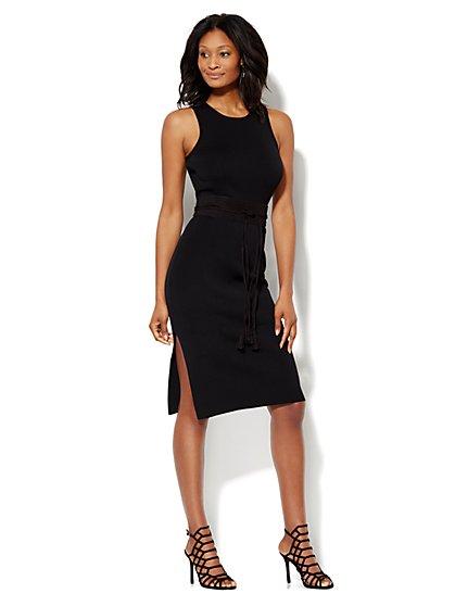 Midi Sweater Sheath Dress  - New York & Company
