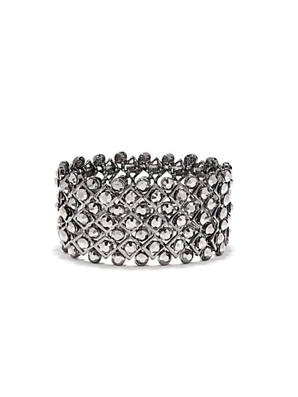Mini Faux-Stone Stretch Bracelet  - New York & Company