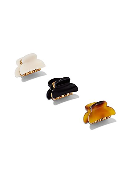 Mini Hair Clip Set  - New York & Company