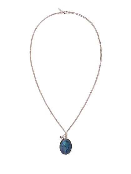 Moonstone Pendant Necklace  - New York & Company