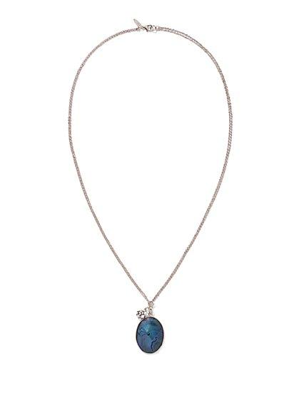 Moonstone Pendant Necklace - New York & Company