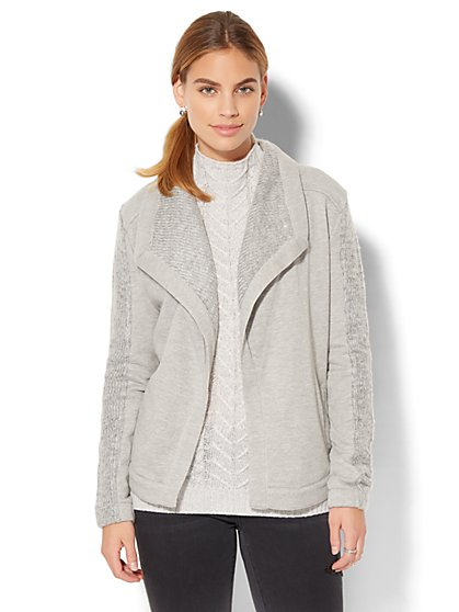 Moto Sweater - New York & Company