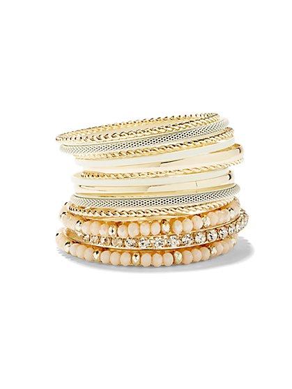 Multi-Bangle Bracelet Set  - New York & Company