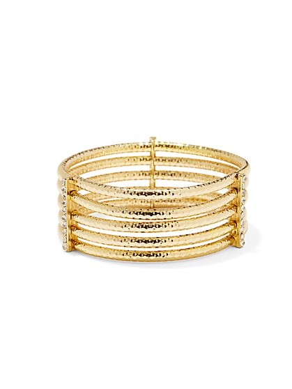 Multi-Row Bangle Bracelet  - New York & Company
