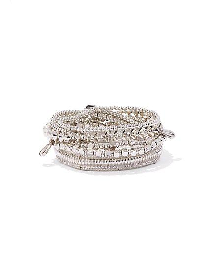 Multi-Row Stretch Bracelet  - New York & Company