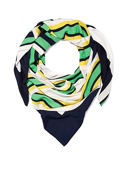 Multi-Stripe Scarf  - New York & Company
